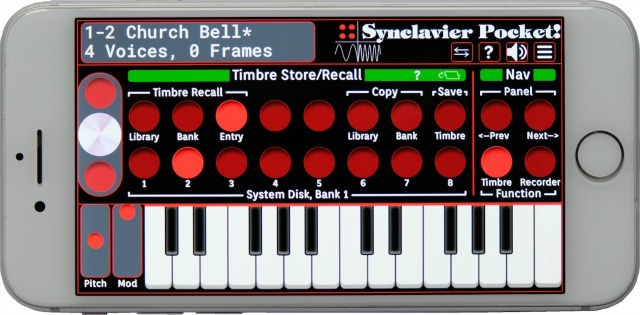 A Synclavier For IPad And iPhone