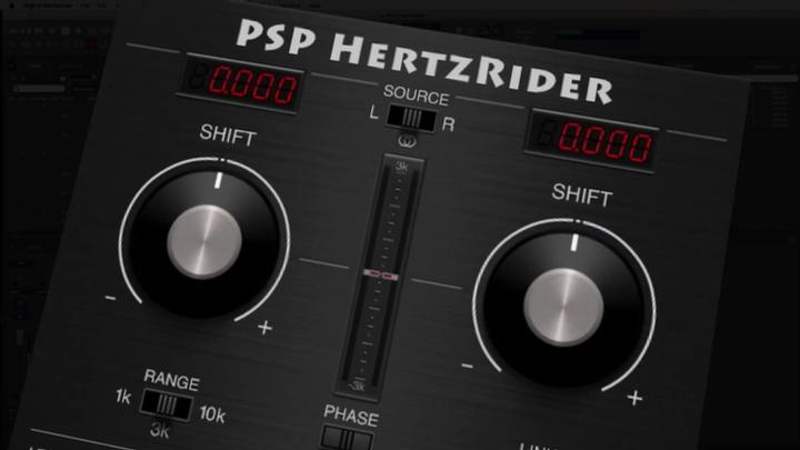 PSP HertzRider - A Frequency Shifter