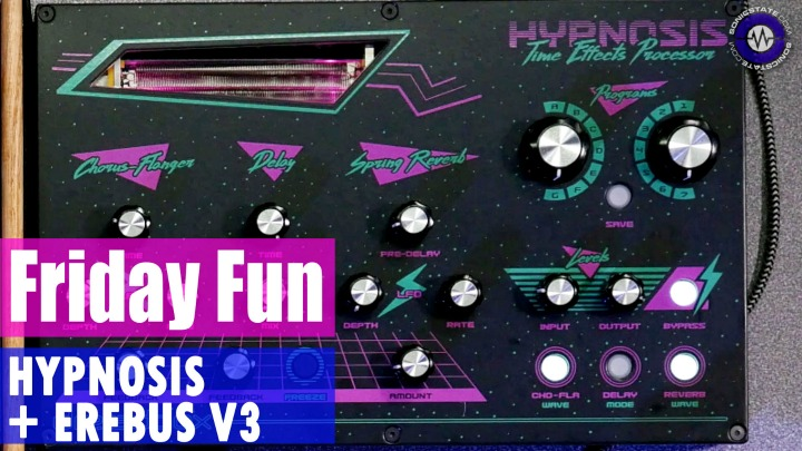 Friday Fun - Dreadbox Hypnosis and Erebus V3 Synth Jam