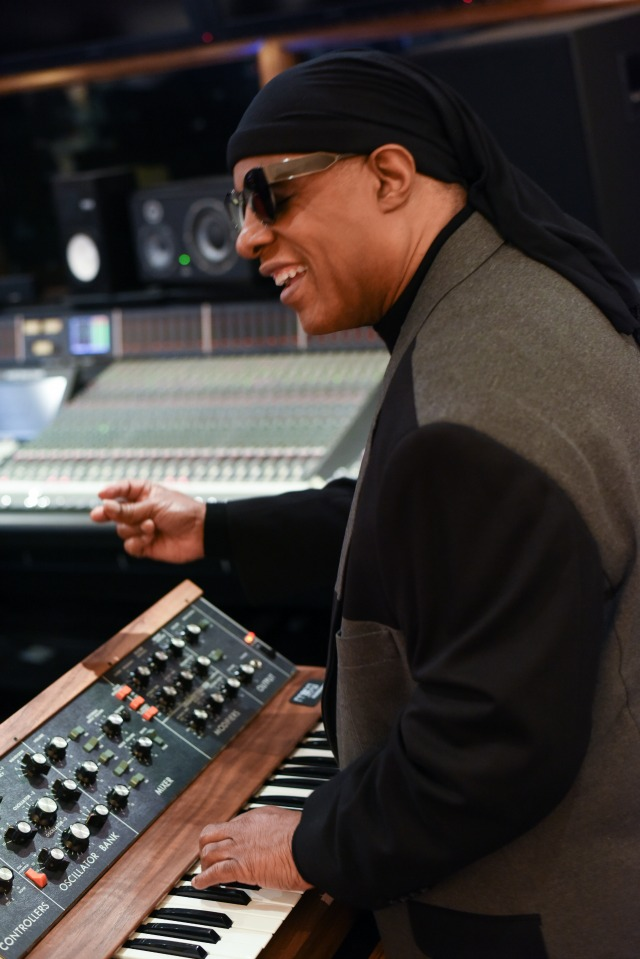 Win A Minimoog Signed By Stevie Wonder