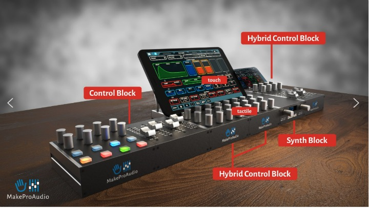 MakeProAudio Scalable Self Build Audio and Control System