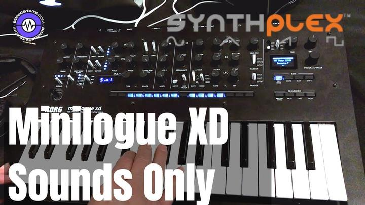 Synthplex 2019: Minilogue XD Sounds Only