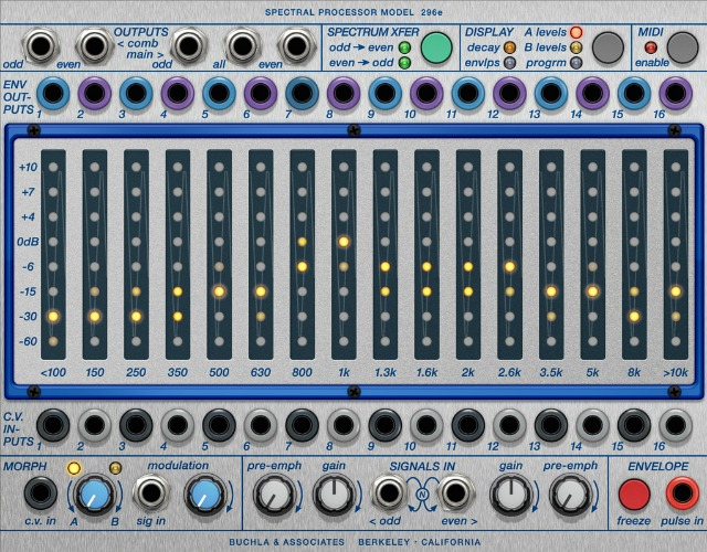 Another Buchla Module For Softube Modular