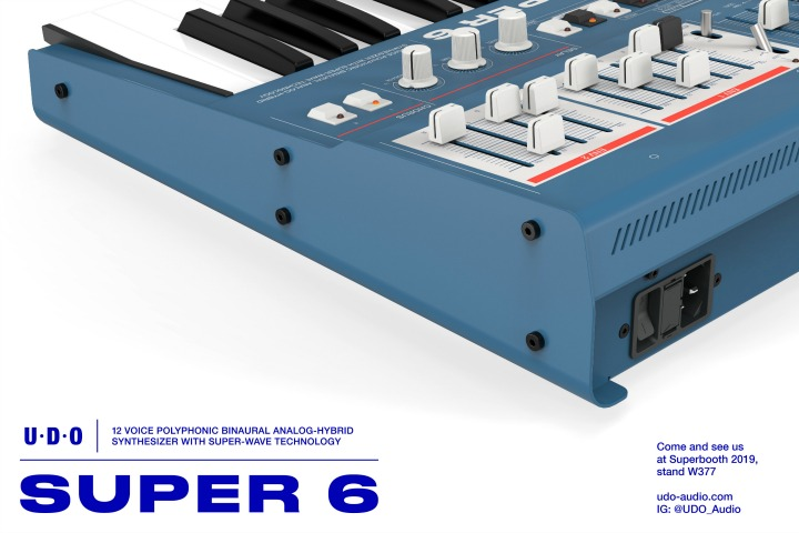 New Super 6  - 12 Voice Polysynth From UDO Audio