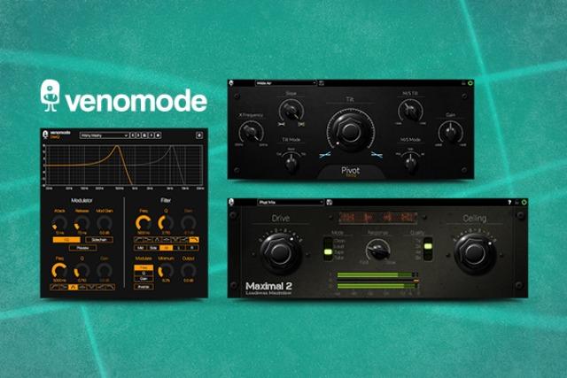 Focusrite Announces Venomode Plug-Ins Offer