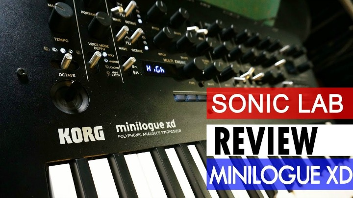 Sonic LAB: Korg Minilogue XD Review