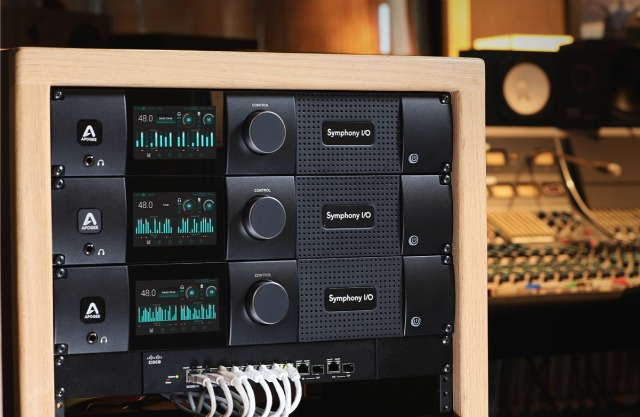 Apogee Ships Flagship Dante-Equipped Interface