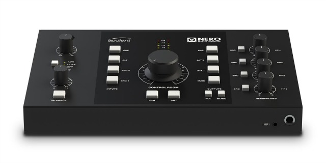Audient Announces Nero Monitor Controller