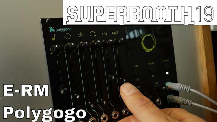 Superbooth 2019: E-RM Polygogo Stereo Oscillator