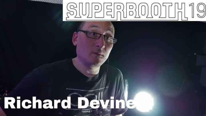 Superbooth 2019: Richard Devine,  MODX And Live Performance