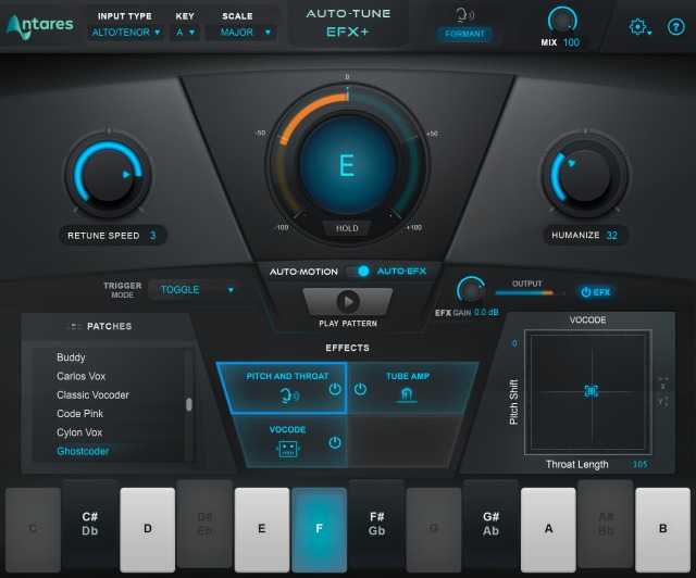 Antares Introduces Auto-Tune EFX+