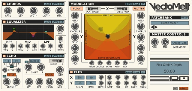 Psychic Modulation Releases VectoMelt Multi-FX