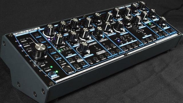 Paraphonic Semi-Modular Synth Ships