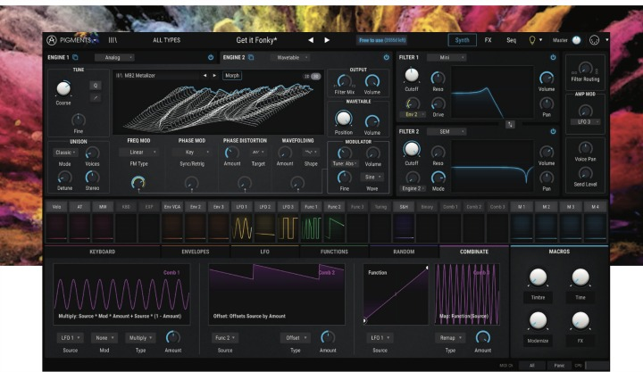 Arturia Updates Pigments, Free To Use Until July 4th