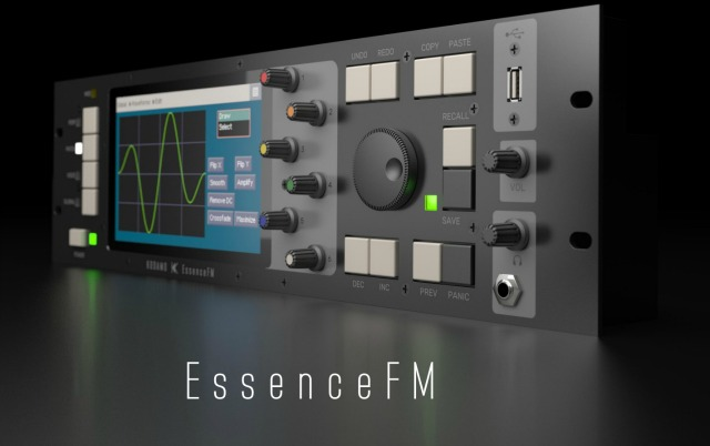 EssenceFM - Modern High-End FM Synthesizer