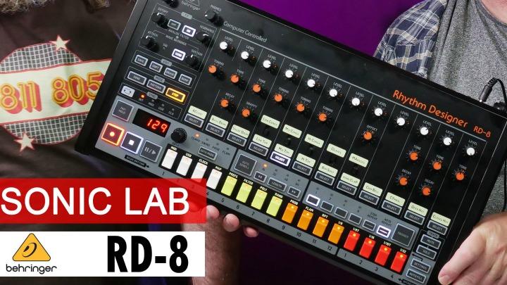 First Look: Behringer RD-8 Rhythm Designer