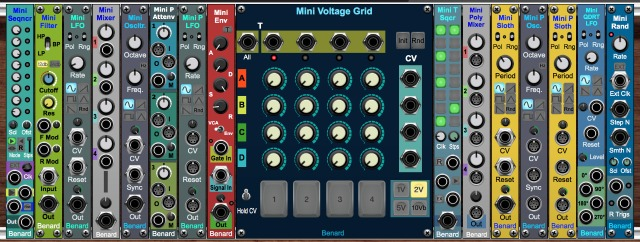16 Modules For Voltage Modular