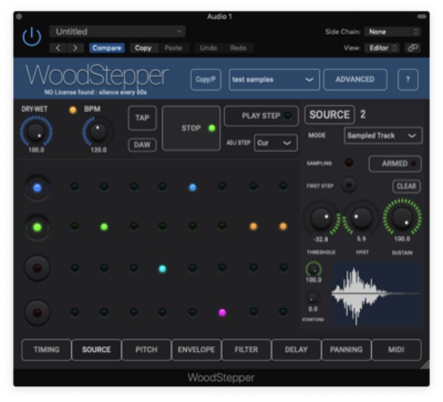 Sequencer/Sampler For MacOS and iOS