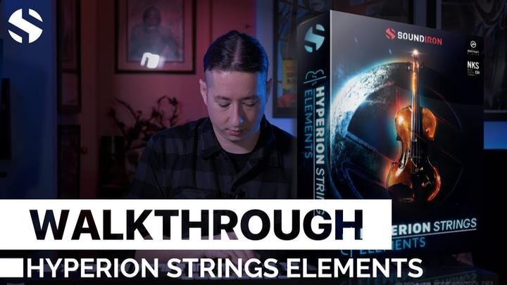 Soundiron Releases Hyperion Strings Elements