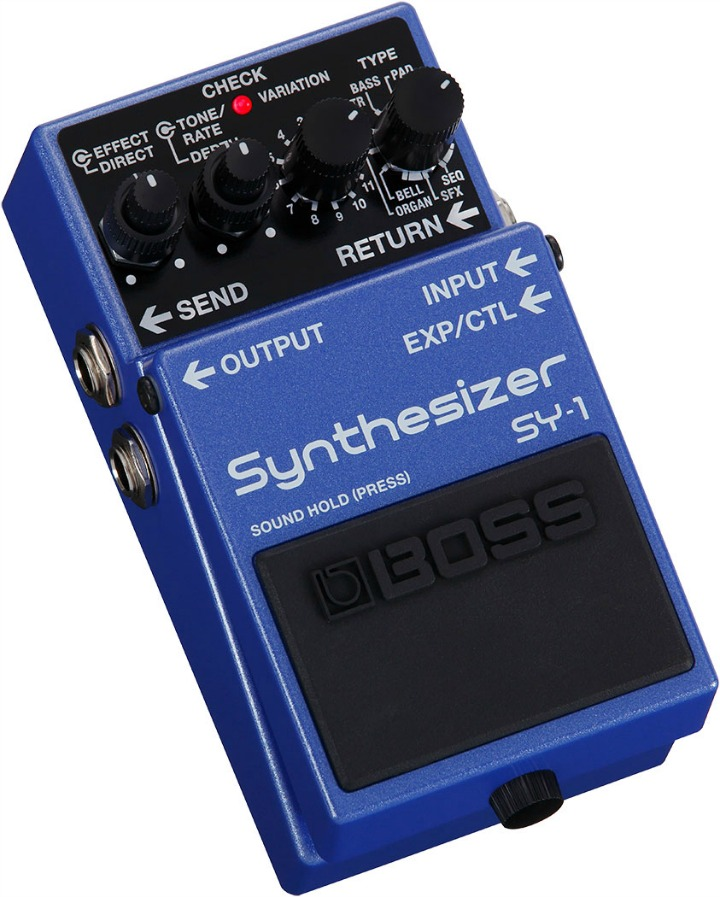 Boss SY-1 Synth Pedal - 11 Synths In One