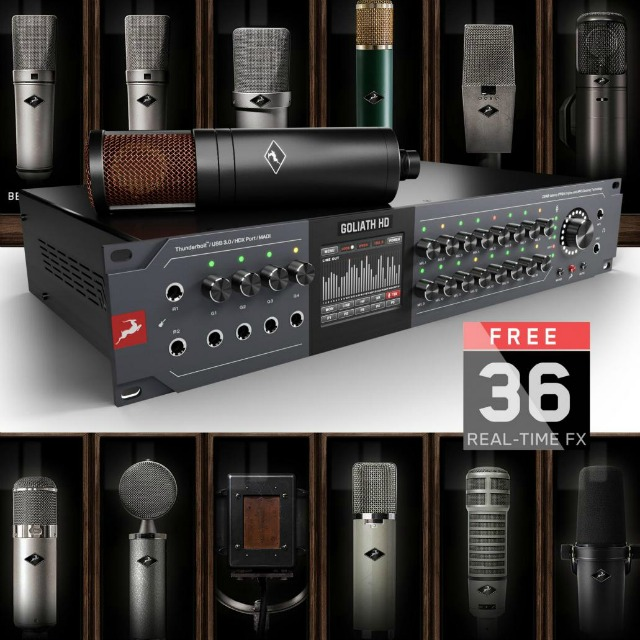Antelope Audio Releases New Flagship Interface
