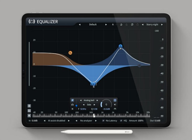 Analog-Modelled Dynamic EQ For iOS