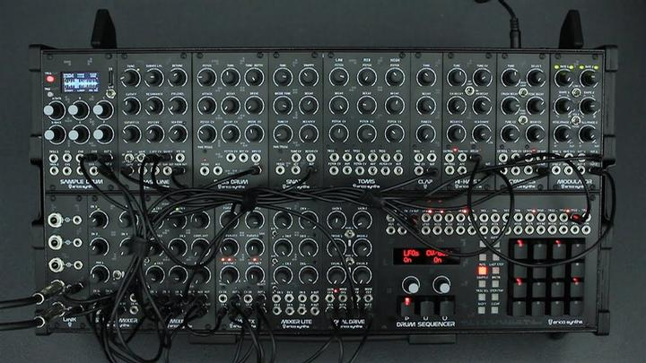 Erica Synths Techno System In Action