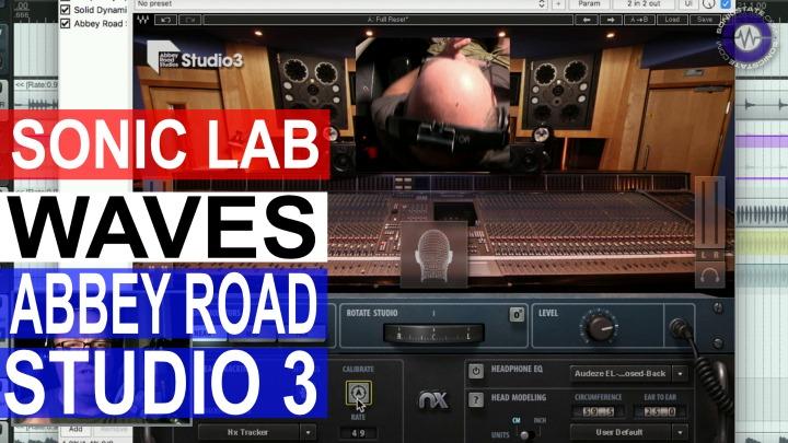 Sonic LAB: Waves Abbey Road Studio 3