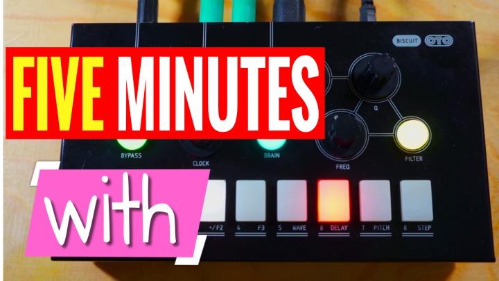5-MINUTES-WITH: OTO Machines Biscuit