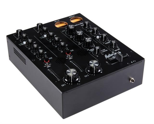 Compact DJ Mixer With Valves