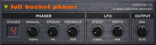 Free Stereo Phaser Plug-In