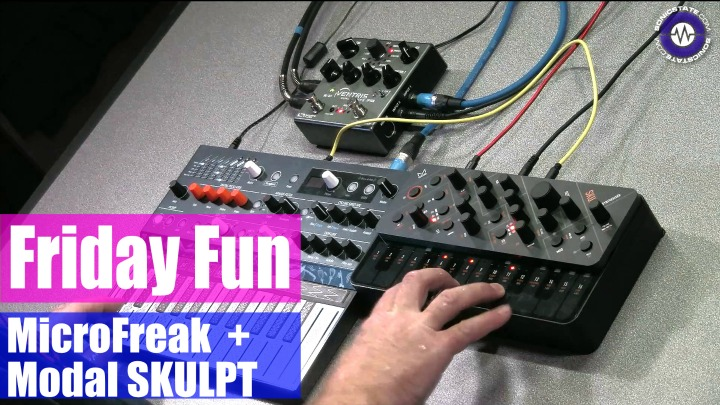 Friday Fun Synth Jam - Modal SKULPT and Mircro Freak