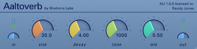 Tweakable Reverb For Live Performance