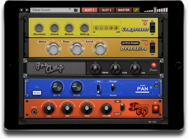 Effects Rack For iPad