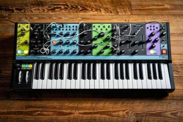 Moog Ships The New Matriarch Synth