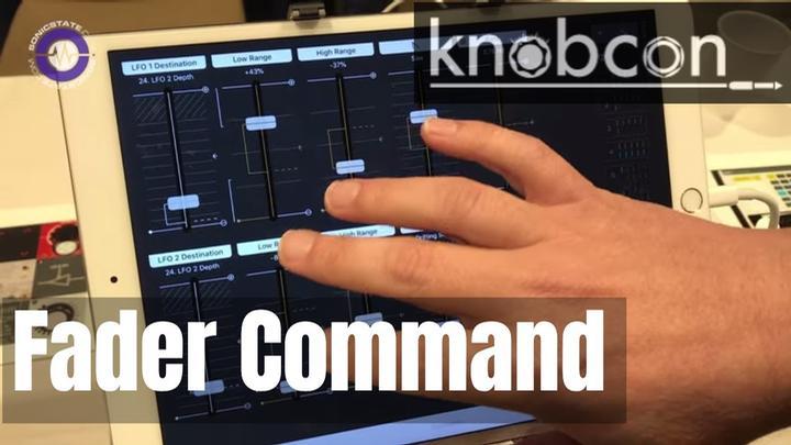 Knobcon 2019: Fader Command App