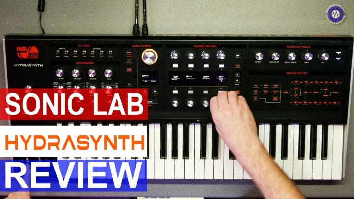 Sonic LAB: Hail Hydrasynth -Digital 8 Voice Poly