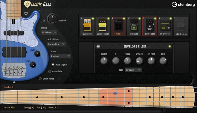 Electric Bass For HALion