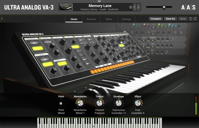 AAS Releases Ultra Analog VA-3