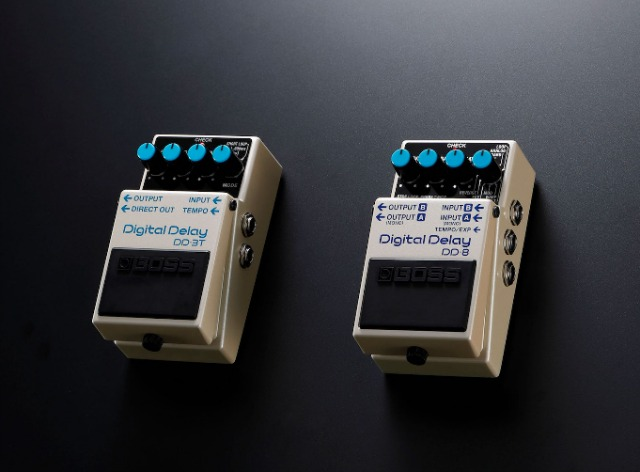 Two New BOSS Digital Delay Pedals