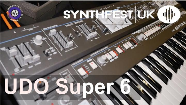 Synthfest 2019: UDO Super 6 Synth Is Coming Along