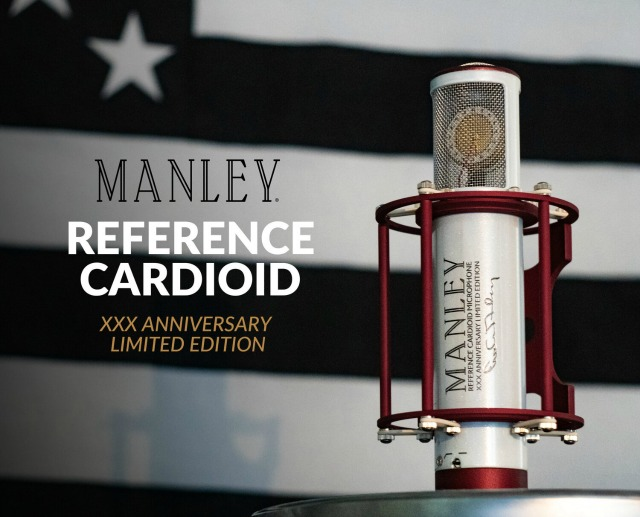 Manley Announces Anniversary Mic