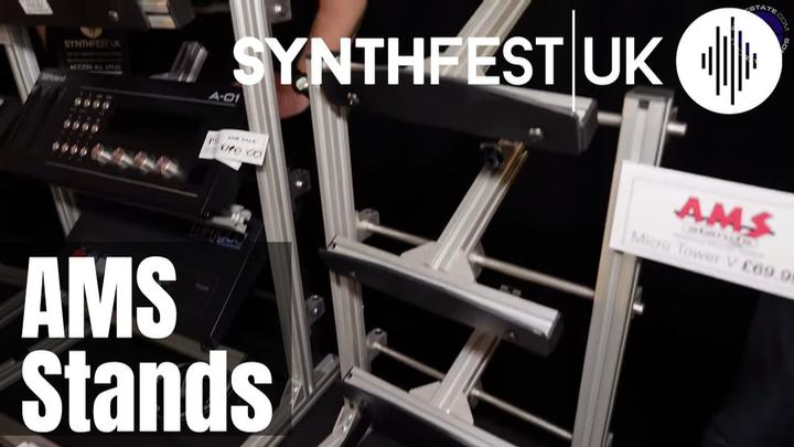 Synthfest 2019: AMS Stands - Modular Stand System