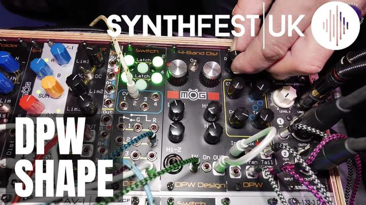 Synthfest 2019: DPW Eurorack Shape Compressor and Shaper