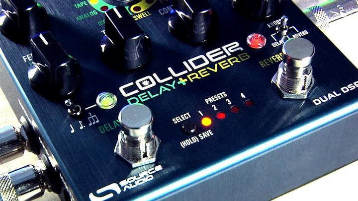 High-End Delay And Reverb FX In One Pedal