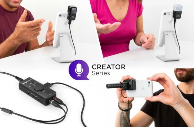 New IK Multimedia Mics And Audio Interface