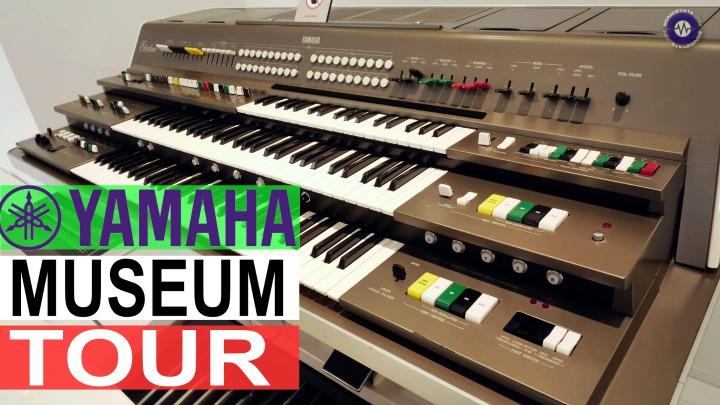 Yamaha Instruments HQ Museum Tour