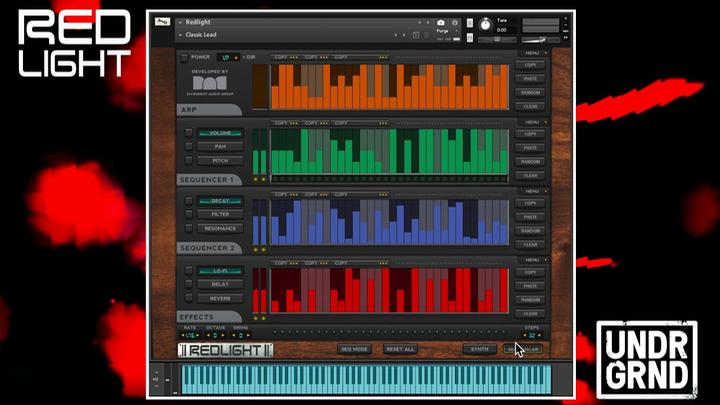 Dual-Layer Synth For Kontakt