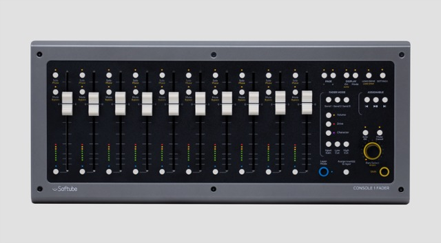 Softube Launches Console 1 Fader