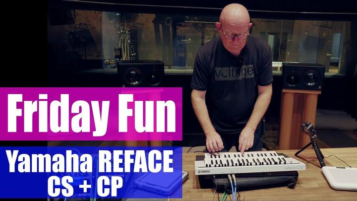 Friday Fun: Synth Jam From Yamaha's Studios
